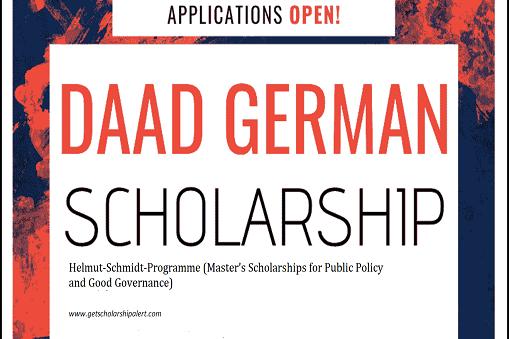 Helmut-Schmidt DAAD Scholarschip